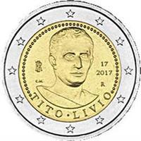 Italia 2 € 2017 Titus Livius