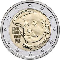 Portugali 2 € 2017 Raúl Brandão