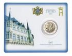 Luxemburg 2 € 2017 Guillaume III BU coincard