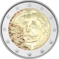 Portugali 2 € 2017 Raúl Brandão väritetty