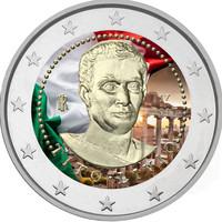 Italia 2 € 2017 Titus Livius väritetty