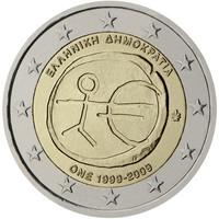 Kreikka 2 € 2009 EMU
