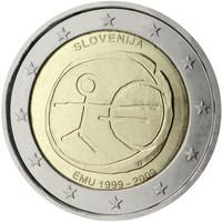 Slovenia 2 € 2009 EMU