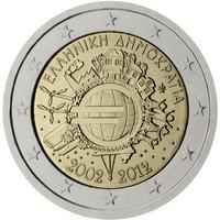 Kreikka 2 € 2012 Euro 10 vuotta