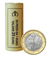 San Marino 1 € 2018 La Césta rulla