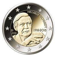 Saksa 2 € 2018 Helmut Schmidt