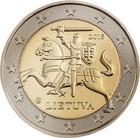Liettua 2 € 2017 Vytis- hevosratsastaja UNC