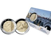 Alankomaat 2 € 2017 coincard Pesac- mintmarkilla