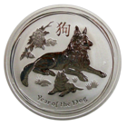 Australia 1 $ 2018 Year of the Dog 1oz Ag