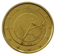 Suomi 2 € 2017 Suomalainen luonto kullattu