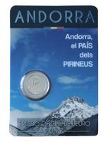 Andorra 2 € 2017 Maa Pyreneillä BU coincard