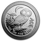 Niue 2 $ 2018 Pallas Athenen pöllö 1oz Ag