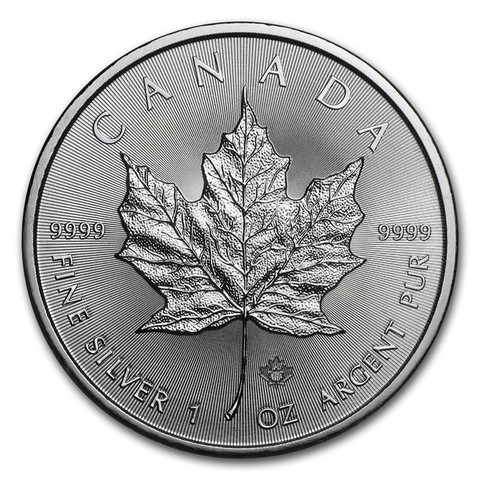 Kanada 5 $ 2018 Maple Leaf 1oz Ag