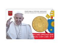 Vatikaani 50s 2018 coincard