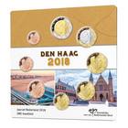 Alankomaat 1 c - 2 € 2018 UNC rahasarja