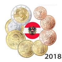 Itävalta 1s - 2 € 2018 UNC