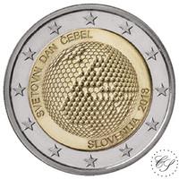 Slovenia 2 € 2018 Maailman mehiläispäivä