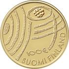 Suomi 100 € 2018 Suomi 100 vuoden kuluttua Au, Proof