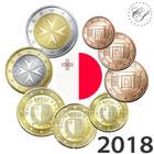 Malta 1s - 2 € 2018 BU
