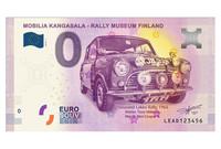Suomi 0 euro 2018 Mobilia Kangasala - Rally Museum Finland UNC