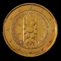 Ranska 2 € 2018 Ruiskaunokki kullattu