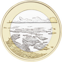 Suomi 5 € 2018 Saaristomeri, Suomalaiset kansallismaisemat