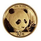 Kiina 10 ¥ 2018 Panda 30g Ag KULLATTU