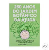 Portugali 2 € 2018 Ajudan kasvitieteellinen puutarha BU coincard