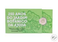 Portugali 2 € 2018 Ajudan kasvitieteellinen puutarha, Proof