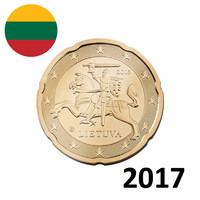 Liettua 20s 2017 Vytis-hevosratsastaja UNC