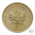 Kanada 5 $ 2018 Maple Leaf 1oz hopea KULLATTU