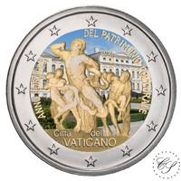 Vatikaani 2 € 2018 Euroopan kulttuuriperintövuosi, Laokoon väritetty