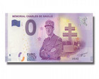 Ranska 0 euro 2018 Mémorial Charles de Gaulle UNC