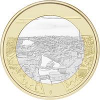 Suomi 5 € 2018 Tammerkoski, Suomalaiset kansallismaisemat