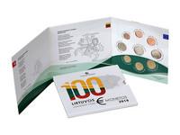 Liettua 2018 BU rahasarja Itsenäisyyden vuosisata