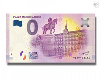 Espanja 0 euro 2018 Madrid Plaza Mayor UNC