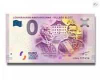 Suomi 0 euro 2018 Louhisaaren kartanolinna UNC