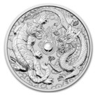 Australia 1 $ 2018 Tiger & Dragon 1oz Ag