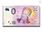 Saksa 0 euro 2018 Willy Brandt UNC