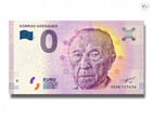 Saksa 0 euro 2018 Konrad Adenauer UNC