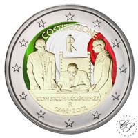 Italia 2 € 2018 Perustuslaki 70 vuotta väritetty
