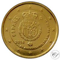 Espanja 2 € 2018 Kuningas Felipe VI KULLATTU