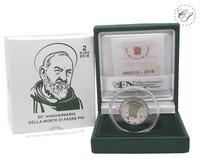 Vatikaani 2 € 2018 Padre Pion 50. vuosipäivä, Proof