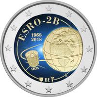 Belgia 2 € 2018 Esro-2B (Iris) BU väritetty