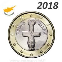 Kypros 1 € 2018 Pomosin Idoli UNC