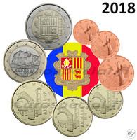 Andorra 1s - 2 € 2018 BU
