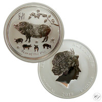 Australia 1 $ 2019 Year of the Pig