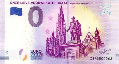 Belgia 0 euro 2018 Onze-Lieve-Vrouwekathedraal