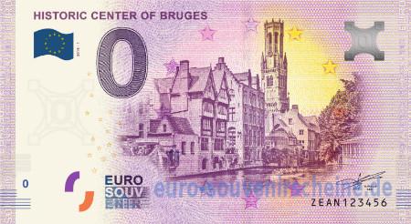 Belgia 0 euro 2018 Brugenin historiallinen keskusta