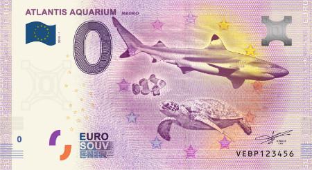 Espanja 0 euro 2018 Atlantis Aquarium Madrid